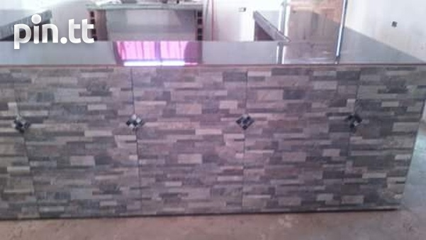 Counter top building and installation-1