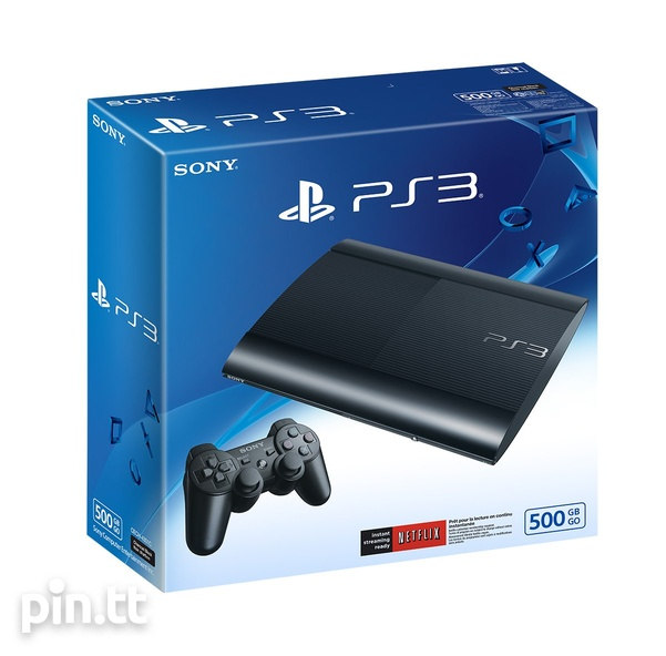 PS3 Super Slim 500GB + 7 Games Bundle-1