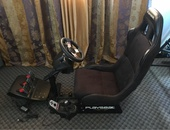 Logitech G27 Racing Wheel complete with race seat