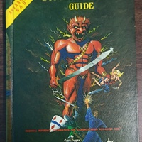 Advanced Dungeons and Dragons Dungeon Masters Guide