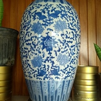 Porcelain Vase and stand
