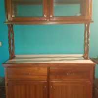 Barely used kitchen cupboard & kitchen sink. Can be sold separately.