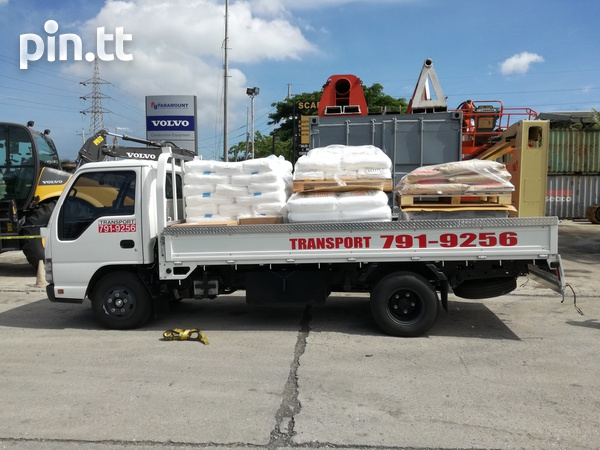 Transport for hire with Isuzu 3 ton truck and 1-1/4Ton Pickup.-7
