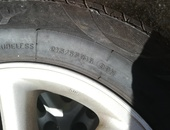 4 Original RAV4 rims with tyres