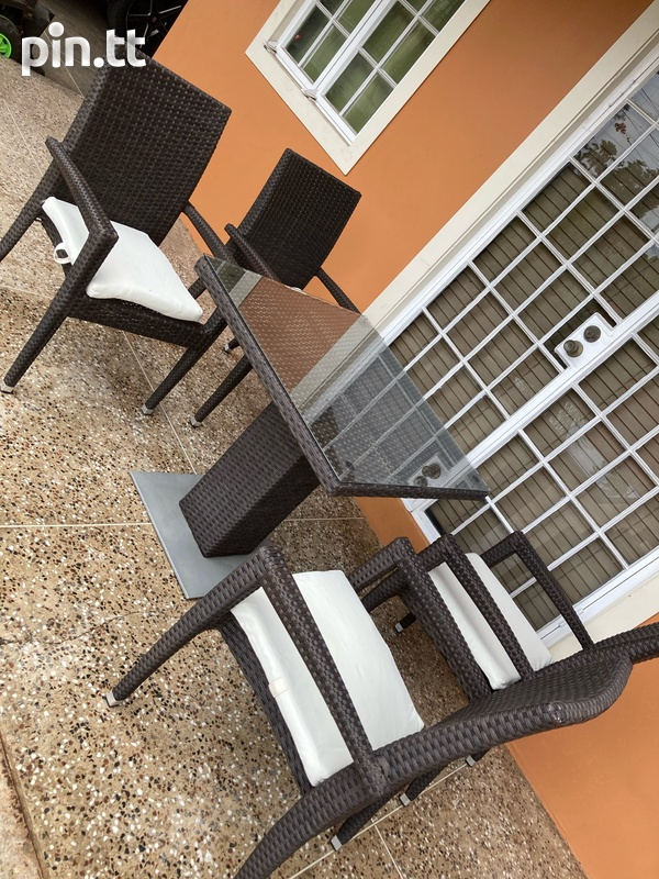 Wicker 5pcs Patio Set-1