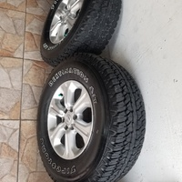 np300 rim and tyre