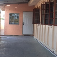 Three bedroom house parking for one vehicle in garage