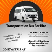Private Bus For Hire