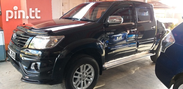 Toyota Hilux, 2013, PDC-5