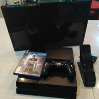 Ps4 500GB Fully Functioning with 22'' LED 1080P JVC TV