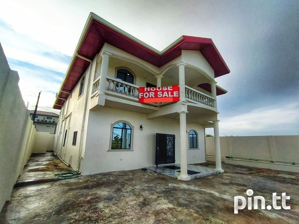 Unfurnished Chaguanas 2-Storey, 4 Bedroom House-10