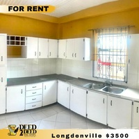 UNFURNISHED 2 BEDROOM APARTMENT LONGDENVILLE, CHAGUANAS