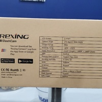 Rexing V1P Pro Dual 1080p Full HD Front and Rear 170 Degree Wide Angle