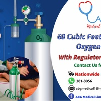 Oxygen tanks with freeSpo2 monitors, face mask and shields thermometer special