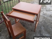 Kids chair and desk