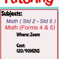 Primary School And Secondary School Math Classes