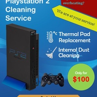 PlayStation 2 Cleaning service