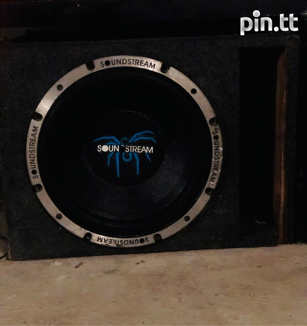 12 Inch Sound Stream Dual Coil In Box