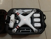Dji Phantom 3 Standard Drone with hardcase and accessories.