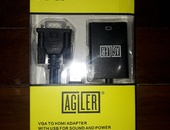 VGA TO HDMI ADAPTER WITH USB FOR SOUND AND POWER