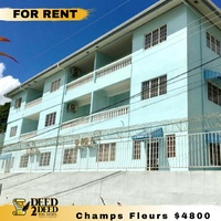 FULLY FURNISHED 2 BEDROOM APARTMENT, CHAMP FLEURS