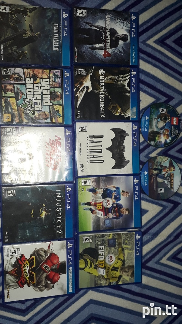 PS4 GAMES-2