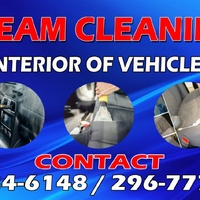 Steam cleaning of any vehicle