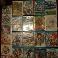 Nintendo wii, wii u and 3ds games collection