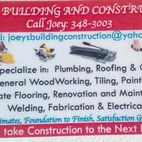 Joey's building and construction