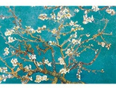 Vincent Van Gogh Turquoise Almond Branches in Bloom