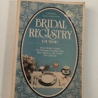 Bridal Registry Book