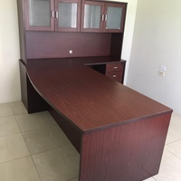 Manager's Desk with cupboards and drawers