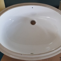 Sink for under granite counters