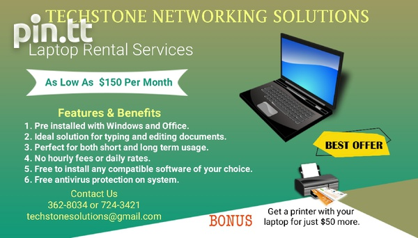 Laptop Rental Services and Solutions