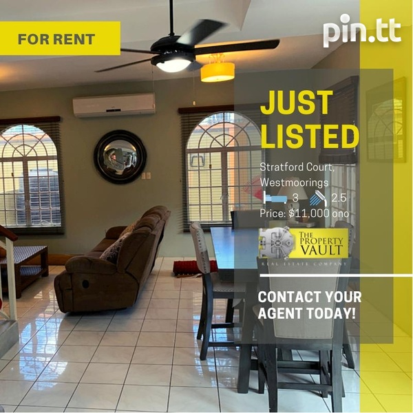 Fully Furnished Strafford Court 3 Bedroom Townhouse-1