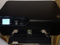 HP printer with refillable cartridges