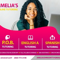 English/POB/Spanish CXC level tutoring