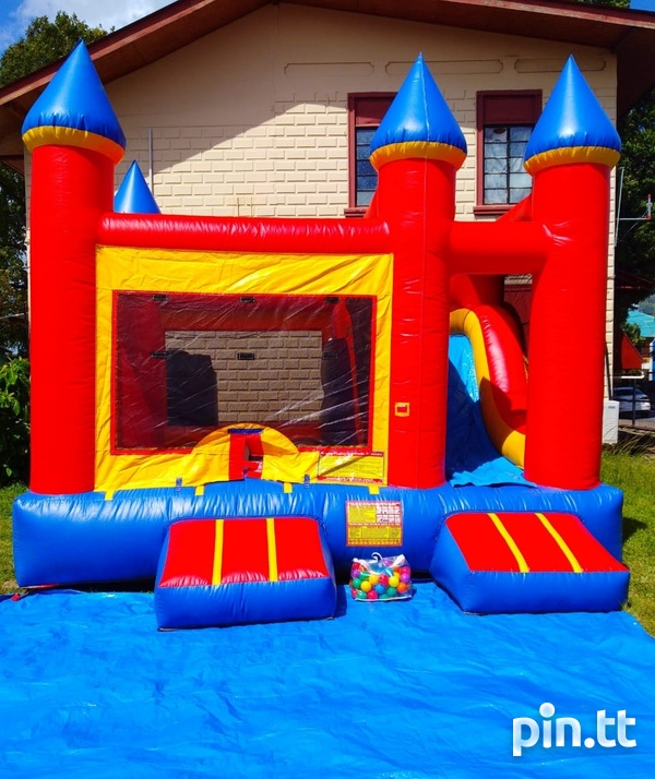 Bounce and slide bounce house-1