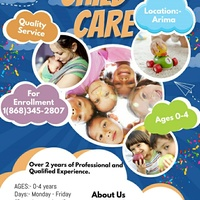 Daycare/Child-care services/Babysitting
