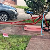 Stretch bicycle