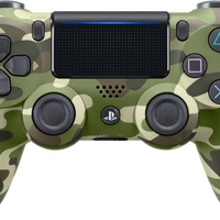 Genuine Sony DUALSHOCK4 Wireless Controller for PS4 - Green Camouflage