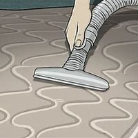 Cleaning of mattress