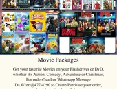 DvD Movie Packages