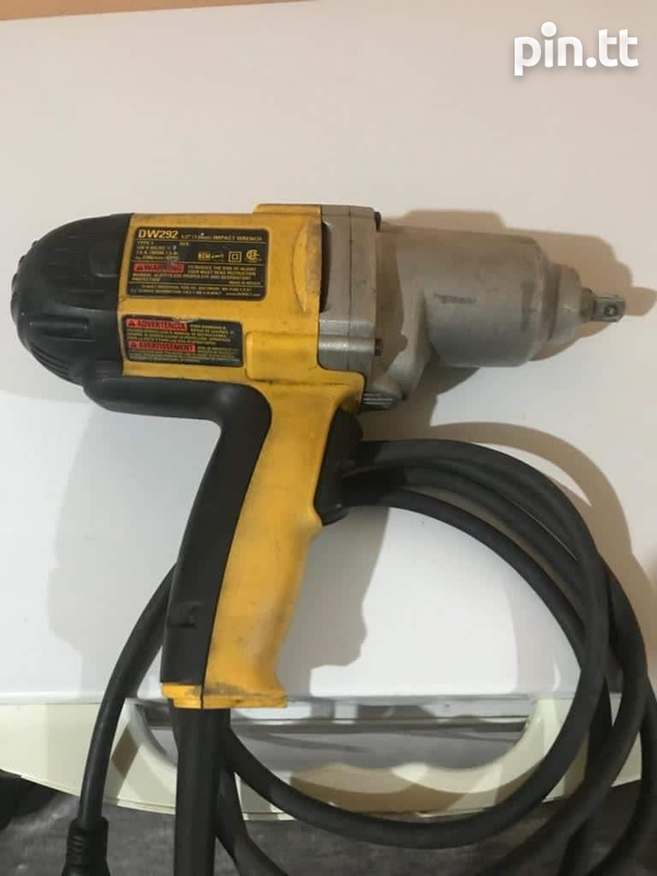 Launch Scan Tool and Dewalt Impact Wrench-2