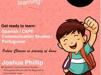 Learn Spanish, Portuguese and CAPE Communication Studies