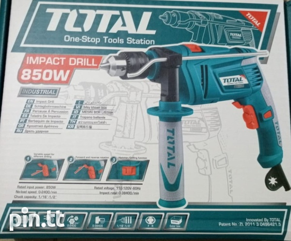 Total 1/2 inch 850W Hammer Drill-1