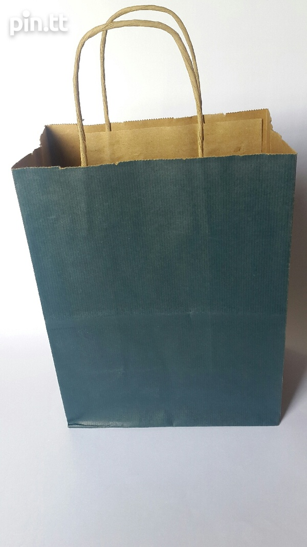 24 Paper Mart Paper Gift Bags with rope handles.-1