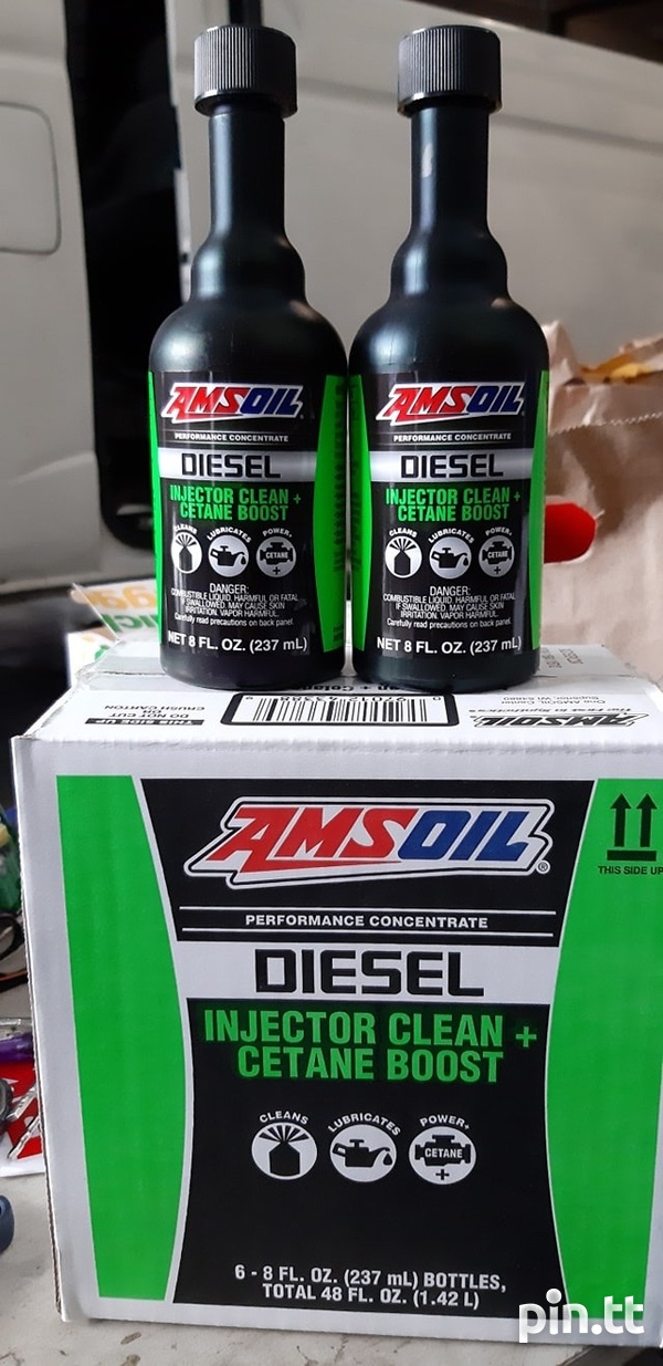 Amsoil Diesel Injector Clean and Cetane Boost - 12 Units/ Case-1