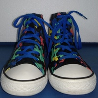 Colorful box Converse