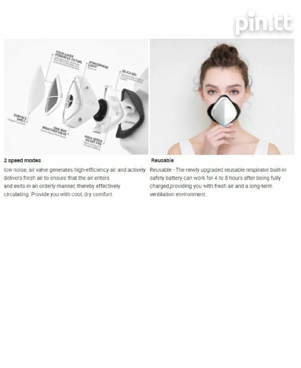 Electric Smart Face Mask-4
